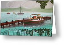 Pointe-a-pitre Martinique Across From Fort Du France Greeting Card