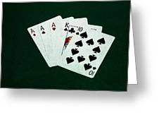 Poker Hands - Three Of A Kind 4 Greeting Card