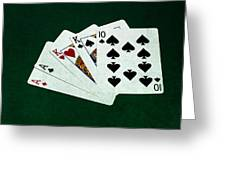 Poker Hands - Two Pair 3 Greeting Card