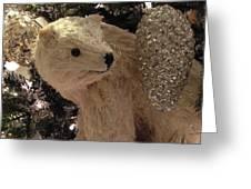 Polar Bear With Ornaments Greeting Card