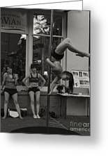 Charolottesville Acrobats Greeting Card