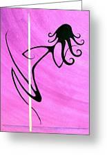 Pole Dancer Greeting Card