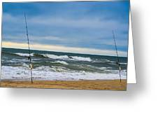Poles Apart  Greeting Card
