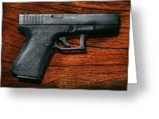 Police - Gun - The Modern Gun  Greeting Card