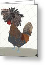 Polish Chicken Greeting Card