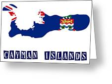 Political Map Of Cayman Islands Painting by Celestial Images