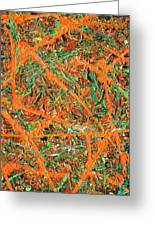 Pollock's Carrots Greeting Card