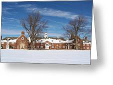 Polo Stables At Caumsett Greeting Card