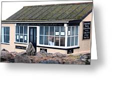 Polpeor Cafe The Lizard Point Greeting Card