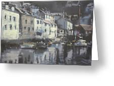 Polpero Cornwall England Greeting Card