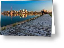 Polson Street Pier Greeting Card