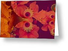 Polyanthus Spiral Greeting Card by Nancy Pauling
