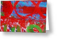 Polyphony I Greeting Card