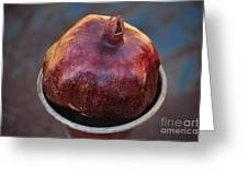 Pomegranate In A Vase Greeting Card