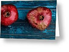 Pomegranate Greeting Card