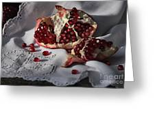 Pomegranate  Seed Greeting Card
