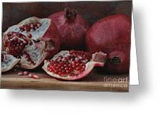 Pomegranate Seeds Greeting Card
