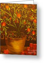 Pomegranate Tree Of Love-original Sold- Buy Giclee Print Nr 28 Of Limited Edition Of 40 Prints   Greeting Card