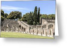 Pompeii 2 Greeting Card