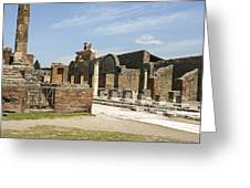 Pompeii 3 Greeting Card