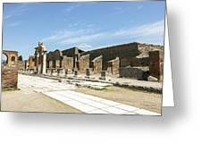 Pompeii 5 Greeting Card