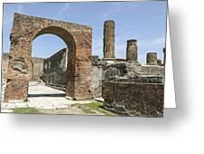 Pompeii 6 Greeting Card
