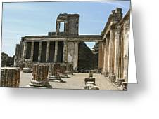 Pompeii 8 Greeting Card