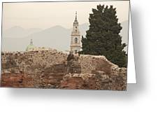 Pompeii And Beyond Greeting Card