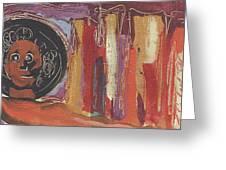 Pompeii Postcard Greeting Card