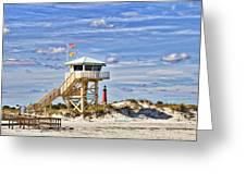 Ponce Inlet Scenic Greeting Card