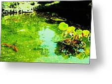 Pond 1 Greeting Card