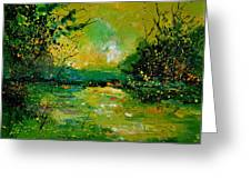 Pond 5431 Greeting Card