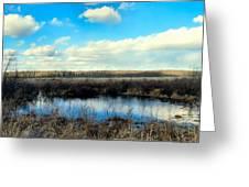 Pond Hole Greeting Card