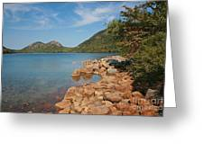 Pond In Maine Greeting Card