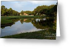Pond View Greeting Card
