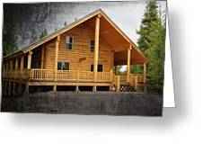 Pond's Cabin Greeting Card
