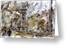 Pont Alexandre Paris Greeting Card
