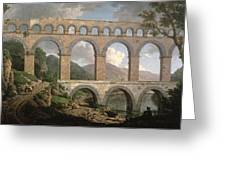 Pont Du Gard, Nimes Greeting Card
