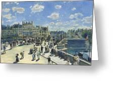 Pont Neuf Paris Greeting Card
