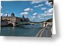 Pont Notre Dame Greeting Card
