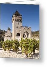 Pont Valentre Cahors Midi-pyrenees France Greeting Card