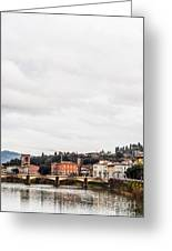 Ponte Alle Grazie Greeting Card by Luis Alvarenga