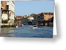 Ponte Dell Accademia Greeting Card