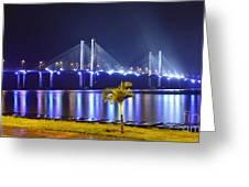 Ponte Estaiada De Aracaju - Construtor Joao Alves Greeting Card
