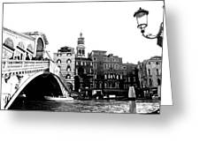 Ponte Realto Greeting Card