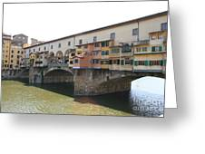 Ponte Vecchio - Florence Greeting Card