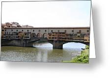 Ponte Vecchio I Greeting Card