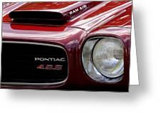 Pontiac 455 Greeting Card