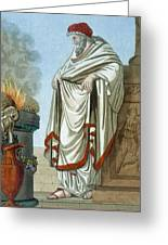 Pontifex Maximus, Illustration Greeting Card