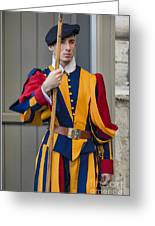 Pontifical Swiss Guard Greeting Card